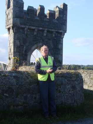 Guide at visit to Vartry reservoir facility | Roundwood Tidy Towns