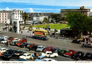 John F. Kennedy Memorial Park within Eyre Square, c. 1970. | Courtesy of Brendan McGowan.