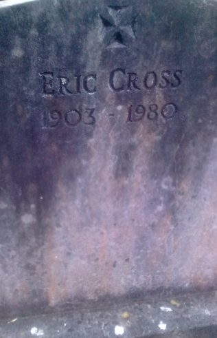 Headstone on grave at Knappagh. | Author's Personal Photo