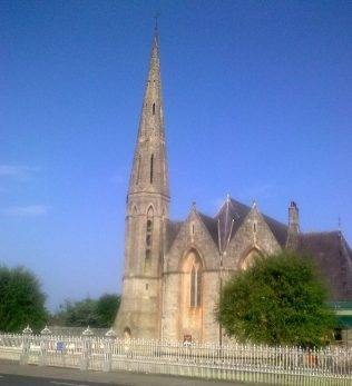 Holy Trinity Church Westport | Author's Personal Photo