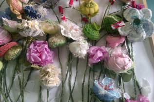 Flowers made for the exhibition in the National Museum of Ireland - Country Life