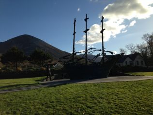 National Famine Memorial in Murrisk Westport | Author Personal Collection