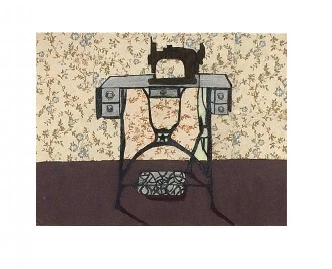 Sewing Machine by Ali Quinn