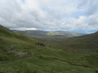 View looking towards Maam on the way up Máméan | Aoife O'Toole