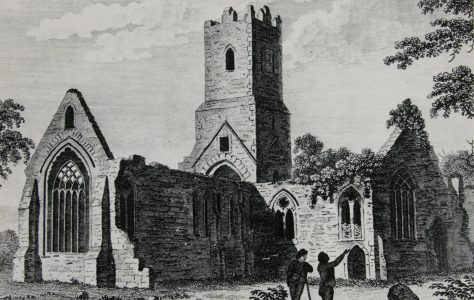 Sketch Athenry Dominican Priory