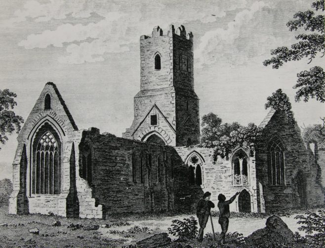 Sketch of Dominican Priory