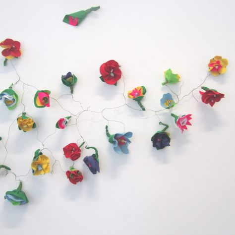 Flowers by the Connaught Textile Crafters | Aoife O'Toole