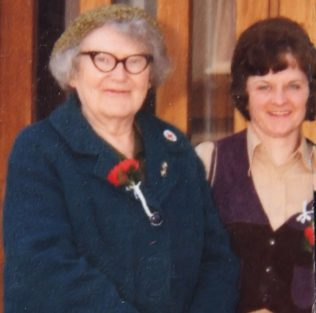 Margaret with her niece, Ann