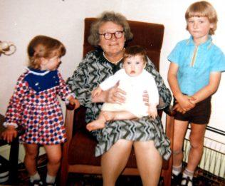 Margaret with Susan, Karen and Adrian