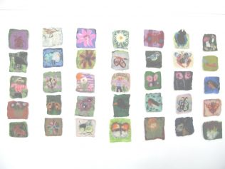 Idividual Handmade Felt Pieces