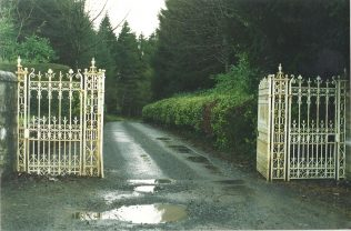 O'Hara's entrance gate N17 Collooney road | Tom Doyle