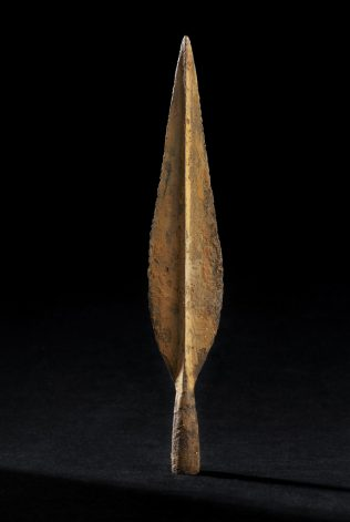 Object No. 14 Iron spearhead, 800-675BC | National Museum of Ireland - Archaeology