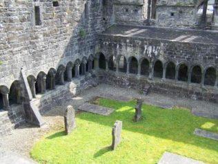 Cloister of Sligo Friary, mother house of Strade   Yvonne McDermott