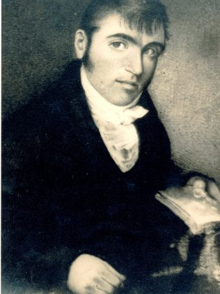 James Hardiman (1782-1855), author of 'The History of the Town & County of the Town of Galway' (1820). | Courtesy of the James Hardiman Library, NUI, Galway.