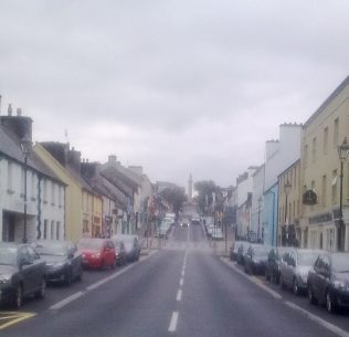James Street from Bridge | Author's Personal Photo