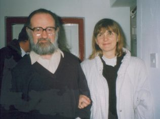 John F. Deane, and his wife Ursula, Heinrich Boll Cottage, 1992