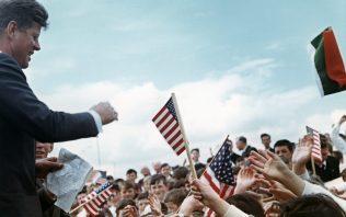 President Kennedy in Ireland, 1963. | Couresty of JFK Presidential Library & Museum, Boston.