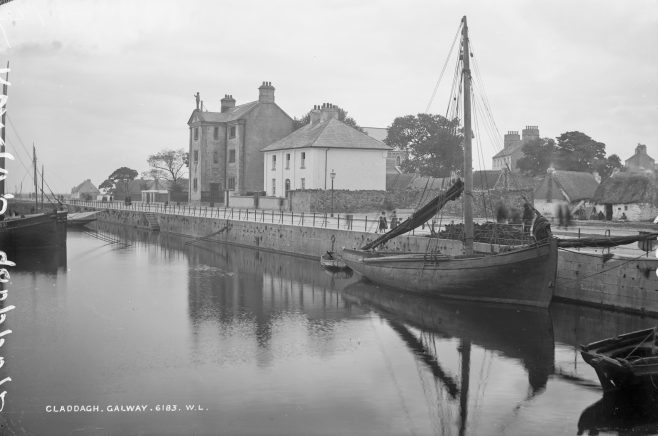 Claddagh Boats, c. 1900. | Courtesy of the National Library of Ireland.