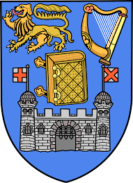 Line Drawaing of Trinity College Arms by W. MacNeill Dixon | commons.wikimedia.org