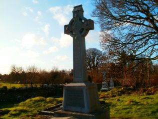 Michael Davitt's Grave in Straide Abbey | Author Personal Collection