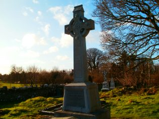 Michael Davitt's Final Resting Place Near Straide Abbey | Author Personal Collection