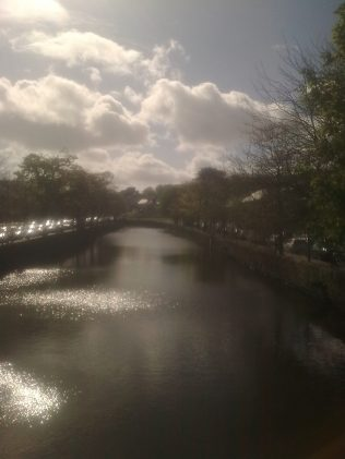 Westport Mall river.   Author Personal Photo