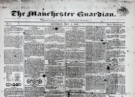 Manchester Guardian Newspaper | commons.wikimedia.org