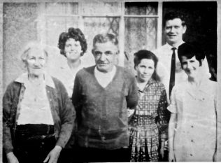 In later years: Martin Griffin (centre) & Family. | Courtesy of John Corcoran.
