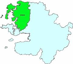 Map of Mayo Barony Erris | commons.wikimedia.org