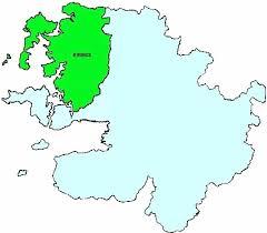 Map of Mayo Barony Erris | commons.wikimedia.org