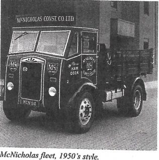 McNicholas Fleet 1950's Style | Personal Collection