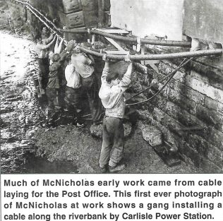 Cable Laying for Post Office | Personal Collection