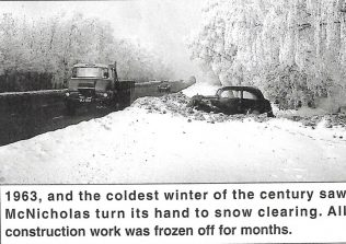 McNicholas Snow Clearing 1963 | Personal Collection