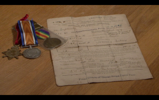 Medals & Papers of Martin Griffin. | Courtesy of John Corcoran.