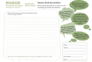 Download the Memory Book Sheet below