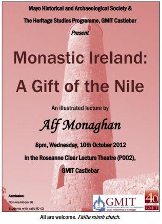 Monastic Ireland - A Gift of the Nile
