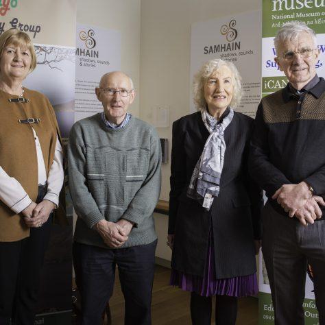 From left to right: Patricia Flatley, John Cafferkey, Peggy & Séan Cadden | Michael McLoughlin