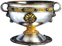 Object No. 30 Ardagh chalice, eighth century | National Museum of Ireland - Archaeology, Kildare St. Dublin.