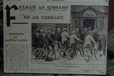 Newspaper clipping regarding Ráth Chairn | Courtesy of Rathcairn Museum