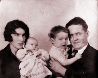 Nora and Jim O Donnell with their sons Dick and Jimmy in the late 1920's | Moran family