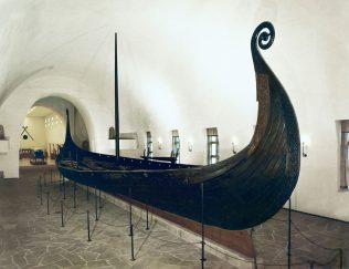 Object No. 35 Oseberg ship, c.815 | Museum of Cultural History, Oslo