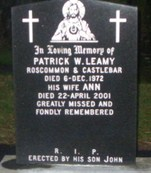 Gravestone at Castlebar Old Cemetery | Author's Personal Photo