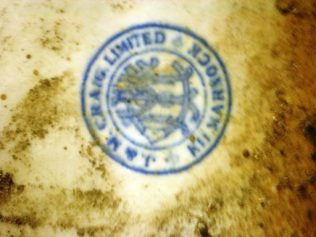 Stamp indicating makers of Magdalen Laundry sink. | Courtesy of Galway City Museum.