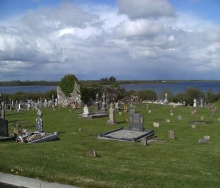Addergoole Cemetery - Fr Andrew is thought to be buried in the ruins of the old Abbey   Author Personal Collection