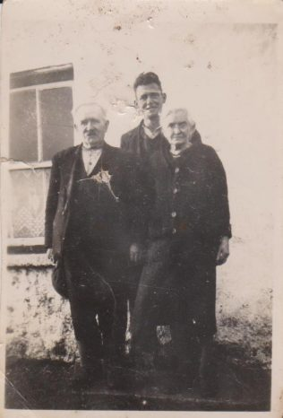 Thomas Moran, Number 9, Tommy Doherty and Number's wife Maggie Moran