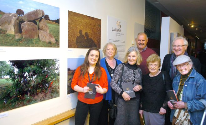 Aoife O'Toole, Maura Flynn, Ann Coutlee, Mary McCombs, Mary Jo Ryan, Terry McDonagh and Noel Burke. | By Henry Wills