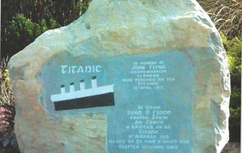 Clonbur link to R.M.S Titanic