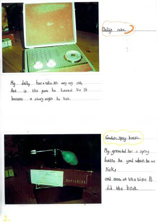 Forgotten Objects Competition: Junior Infants - 2nd class winners