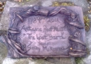 Plaque in Kiltimagh | Author's Personal Photo