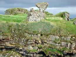 Ruins of Kilbarron Castle at Greeevy. | commons.wikimedia.org